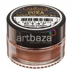 Воск для золочения Dora Finger Wax, Antique Pink / Античный Розовый, 20 мл., CADENCE | CADENCE воск для золочения Dora Wax