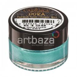 Воск для золочения Dora Finger Wax, M. Sky / Небесно - голубой, 20 мл., CADENCE | Купить воск для золочения CADENCE Dora Wax