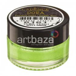Воск для золочения Dora Finger Wax, Apple Green / Яблоко, 20 мл., CADENCE | Купить воск для золочения CADENCE Dora Wax в Украине