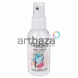 Краска - спрей для ткани, White / Белый, 100 мл., Cadence Your Fashion Spray Fabric Paint | Купить спрей - краску по ткани