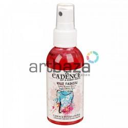 Краска - спрей для ткани, Crimson / Красный, 100 мл., Cadence Your Fashion Spray Fabric Paint купить в Киеве и Украине