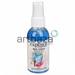 Краска - спрей для ткани, Sea Blue / Голубой, 100 мл., Cadence