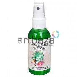 Краска - спрей для ткани, Green / Зеленый, 100 мл., Cadence