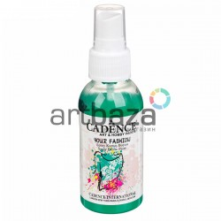 Краска - спрей для ткани и одежды, Turquoise / Бирюзовый, 100 мл., Cadence Your Fashion Spray Fabric Paint