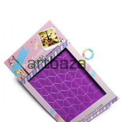 Уголки для альбомов и фотографий в скрапбукинге и кардмейкинге Photo Corners, цвет фиолетовый, 102 штуки