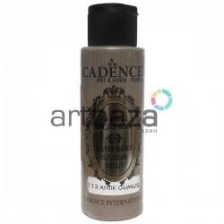 Краска акриловая с эффектом золочения Water Based Gilding Paint, Antique Silver / Античное Серебро, 70 мл., Cadence
