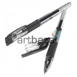 Ручка гелевая для рисования, черная, 0.5 мм., Dong A