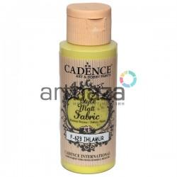 Краска по ткани матовая Style Matt Fabric, Linden / Липовый, 59 мл., Cadence