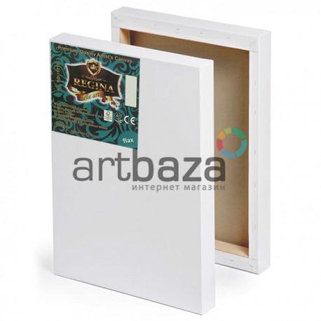 Холст грунтованный на подрамнике 3D, хлопковый мелкозернистый, 40x50 см., REGINA