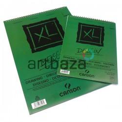 Альбом для графики и зарисовок на спирали XL DESSIN Canson, 20 листов, 210 x 297 мм. | Альбомы Canson для рисования в Украине