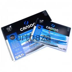 Альбом бумаги для акварели, 297 x 420 мм., 300 гр./м²., 12 листов, Canson Montval
