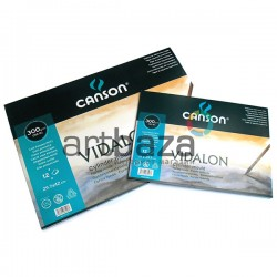 Альбом бумаги для акварели, 210 x 297 мм., 300 гр./м²., 12 листов, Canson Vidalon