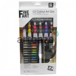 Набор художественных масляных красок, 6 цветов по 12 мл., Art Nation | Масляные краски для живописи и рисования в Украине