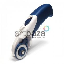 Нож макетный роликовый, Ø28 мм., Bomeijia | Ручной роликовый нож для резки бумаги, картона, кожи и тканей