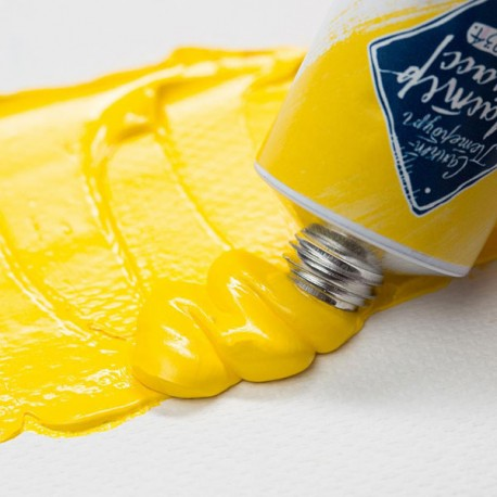 Краска художественная масляная, cadmium yellow medium / кадмий желтый светлый, 200, туба 46 мл., Мастер Класс 4607010580025