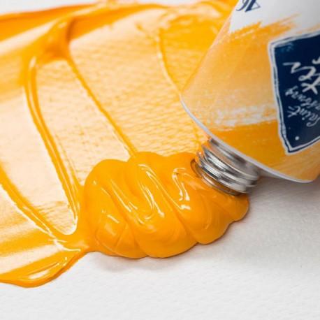Краска художественная масляная, cadmium yellow deep / кадмий желтый темный, 202, туба 46 мл., Мастер Класс 4607010580049