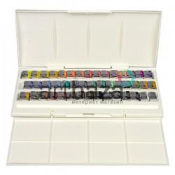Набор художественных акварельных красок в пластиковом пенале, 45 цветов, Winsor & Newton