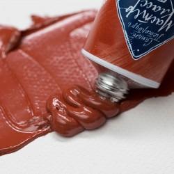 Краска художественная масляная, английская красная, 300, туба 46 мл., Мастер Класс