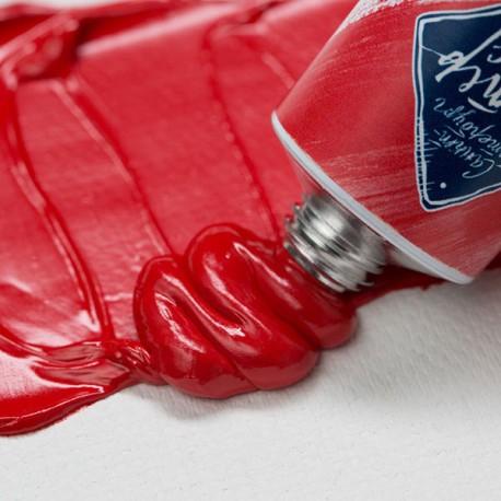 Краска художественная масляная, cadmium red deep / кадмий красный темный, 303, туба 46 мл., Мастер Класс 1104303 4607010580155