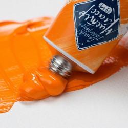 Краска художественная масляная, кадмий оранжевый, 304, туба 46 мл., Мастер Класс