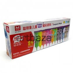 Набор художественных темперных красок, 24 цвета по 35 мл., Art Rangers