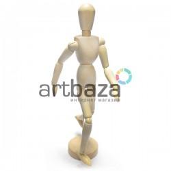 """Деревянный подвижный манекен человека, 12"""" (32.5 см.), Maries"""