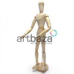"""Деревянный подвижный манекен человека, мужской, 16"""" (40.64 см.), Phoenix ⚡ Манекены для рисования купить в Украине"""