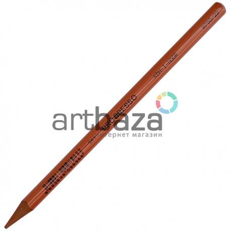 Цветной бездревесный карандаш в лаковом корпусе Progresso, красно - коричневый, Koh-I-Noor, арт.: 8750/22 (8593539098966)