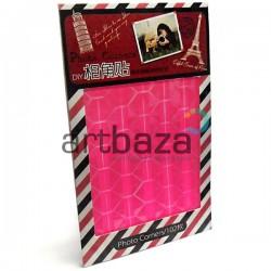 Уголки - держатели самоклеющиеся для альбомов / фотографий в скрапбукинге / кардмейкинге Photo Corners, цвет розовый, 102 штуки