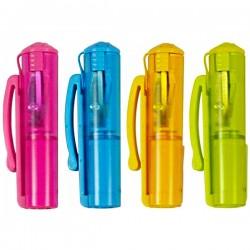 Колпачок - точилка для карандашей с контейнером, Cap Sharpener Pop, KUM