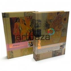 """Блокнот для зарисовок (набросков), 200 листов, 109 х 144 мм., """"Великие художники"""""""