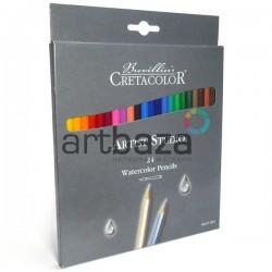 Набор акварельных карандашей Artist Studio Line, 24 цвета, Cretacolor