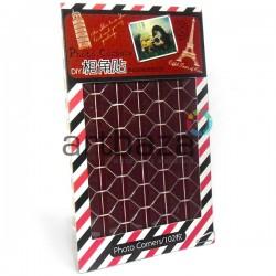 Уголки для альбомов и фотографий в скрапбукинге и кардмейкинге Photo Corners, цвет коричневый, 102 штуки
