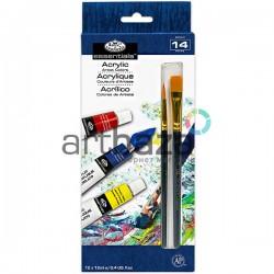 Набор художественных акриловых красок, 12 цветов по 12 мл., Royal Langnickel, арт.: ACR12 (090672028570)