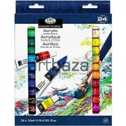 Набор художественных акриловых красок, 24 цвета по 12 мл., Royal Langnickel, арт.: ACR24 (090672065155)