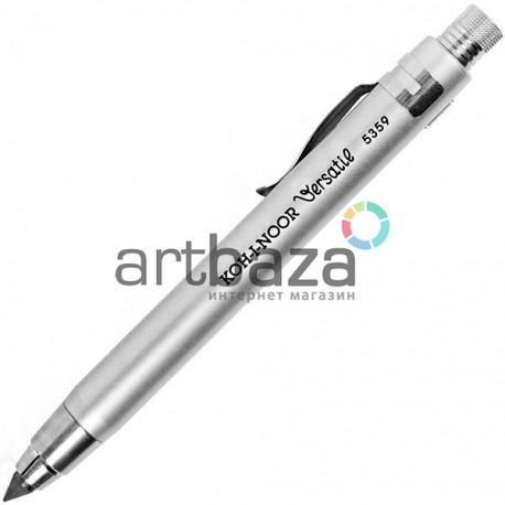 Цанговый механический карандаш с точилкой в футляре, Versatil, Ø5.6 мм., Koh-i-noor, арт.: 5359CN2015PL (8593539819967)