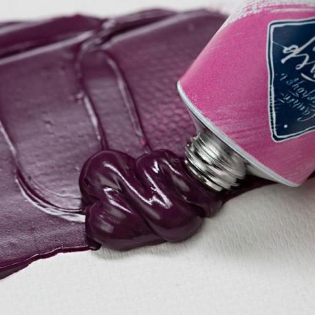 Краска художественная масляная, ультрамарин розовый / ultramarine rose, 341, туба 46 мл., Мастер Класс