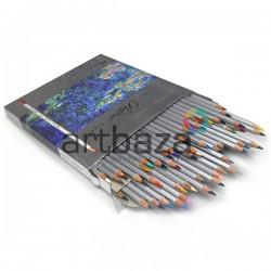 Профессиональные цветные карандаши, шестигранные, 48 цветов, Marco Raffine | 7100-48CB | 6951572912106