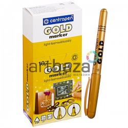 Маркер перманентный для декоративных работ GOLD 2690, золотой, 1.5 - 3 мм., Centropen