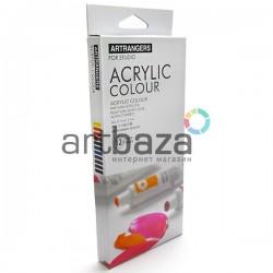 Набор художественных акриловых красок, 12 цветов по 12 мл., Art Rangers