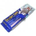 Глина (пластика, масса) для моделирования MUNGYO Sculpt Dry, 500 гр., белая