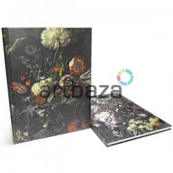 """Блокнот - книга для зарисовок (набросков), 52 листа, 253 x 345 мм., """"Vase of Flowers"""""""