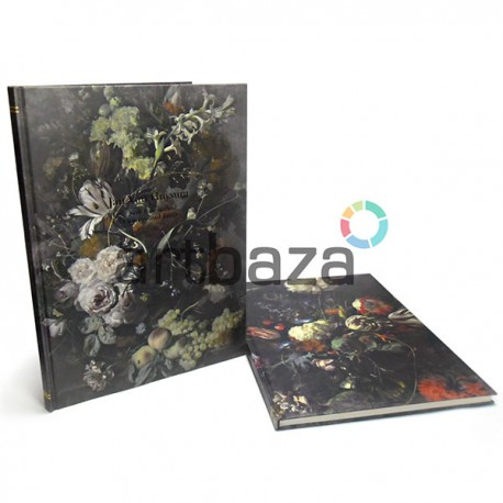 """Блокнот - книга с плотной бумагой для зарисовок (набросков), 52 листа, 253 x 345 мм., А4+ """"Still Life with Flowers and Fruit"""""""