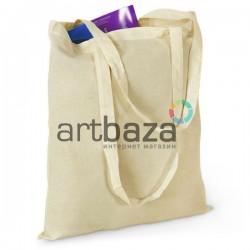 Эко - сумка хлопковая с длинной ручкой, 37.5 x 42 см., REGINA Galant