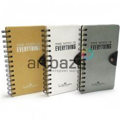 "Блокнот - скетчбук для рисования на спирали, 98 листов, 105 x 184 мм., ""The Mind Is Everything"" ● JGXQ40980-5183 ● 6933173721080"