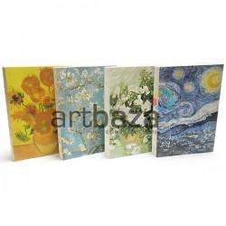 """Блокнот - скетчбук для рисования, 128 листов, 145 x 210 мм., """"Vincent Willem van Gogh"""""""