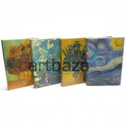 """Блокнот - скетчбук для рисования, 128 листов, 140 x 205 мм., """"Van Gogh"""""""