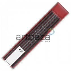 Набор грифелей (стержней) для цангового карандаша, Ø2 мм., 8B, Koh-i-noor