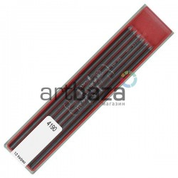 Набор грифелей (стержней) для цангового карандаша, Ø2 мм., 4H, Koh-i-noor