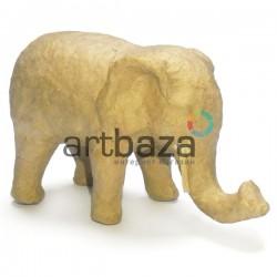 """Заготовка - фигурка объемная из папье-маше """"Слон"""", 11 x 5 x 7 см., Decopatch"""